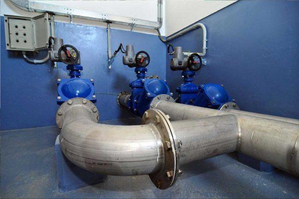 Наружные сети холодного водоснабжения